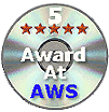 5 Star Award At Any Windows Shareware